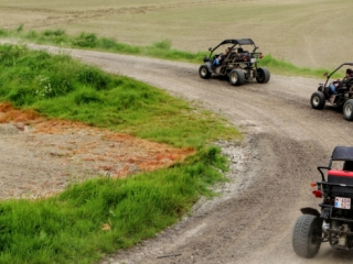 Rally per buggy